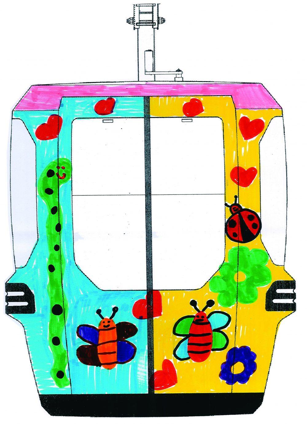 disegno cabina concorso dipingi una cabina