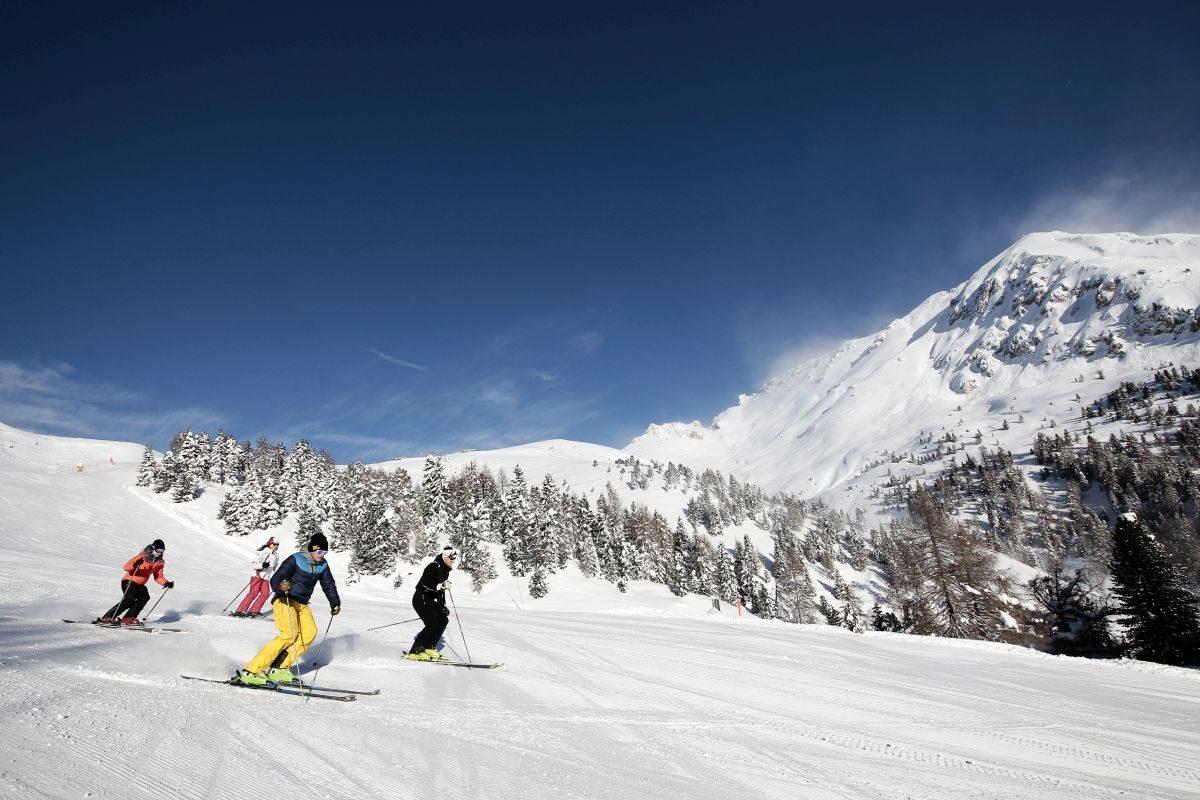 sciare in val di fiemme a predazzo