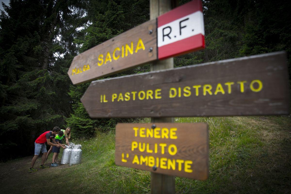 """partenza del sentiero """"il pastore distratto"""" ©Modica"""