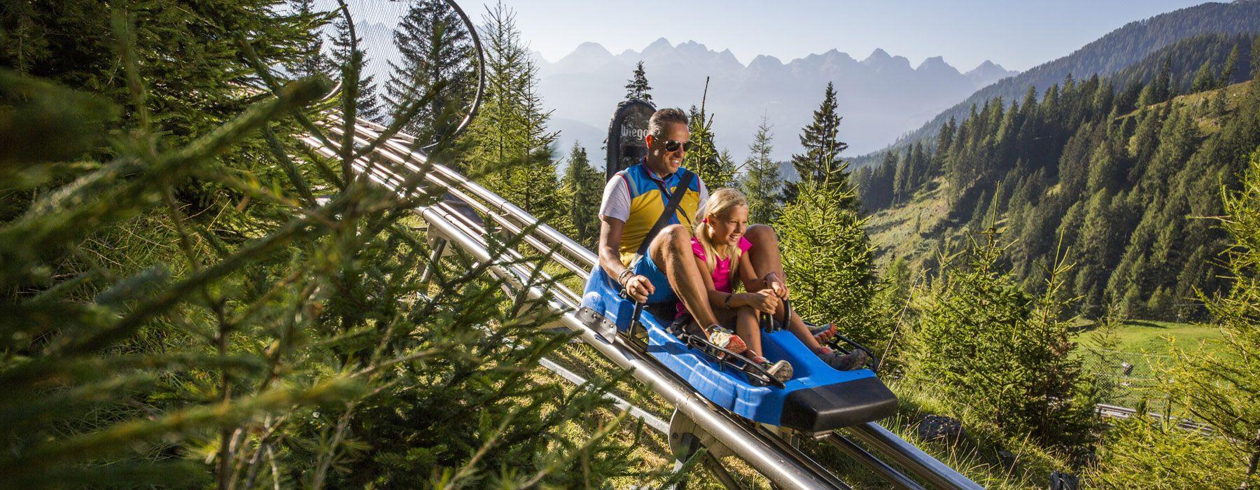 bob su rotaia alpine-coaster-gardon-latemar-trentino-val-di-fiemme