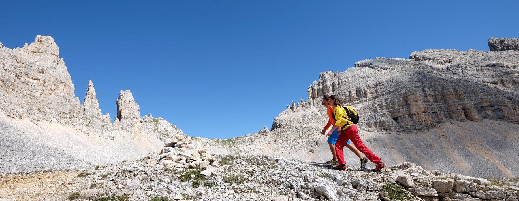 trekking-completo del latemar val di fiemme trentino alto adige
