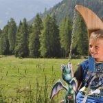 6 cose da fare con i bambini di 3-7 anni d'estate in montagna