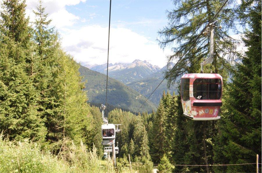 Telecabina Predazzo-Gardonè in Val di Fiemme, Trentino