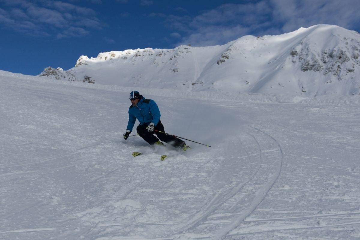 Pista Cinque nazioni, ski center latemar, Fiemme
