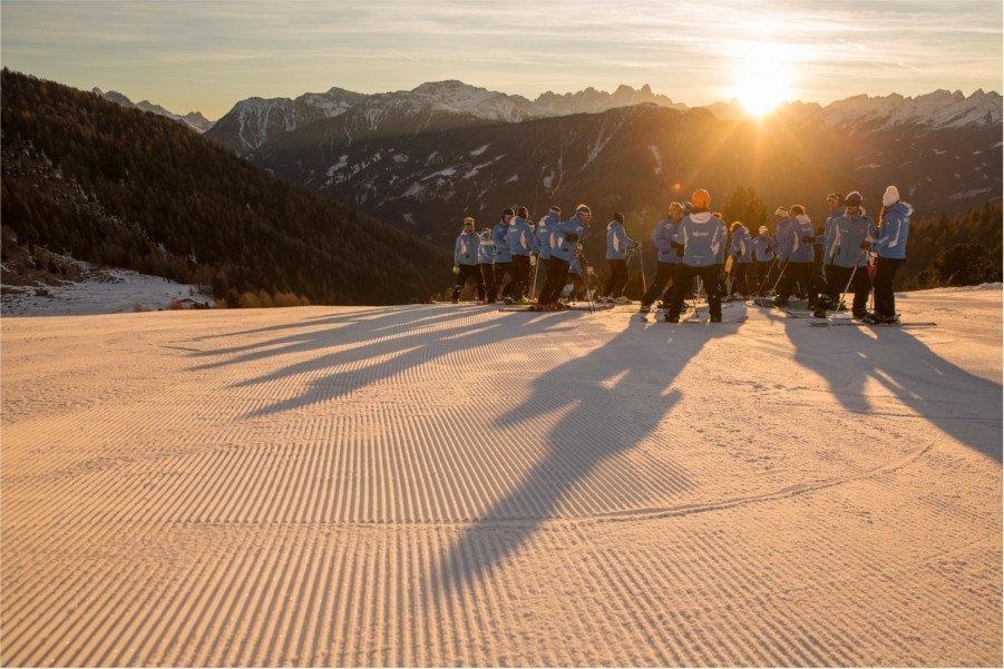 scuola di sci Alta val di fiemme