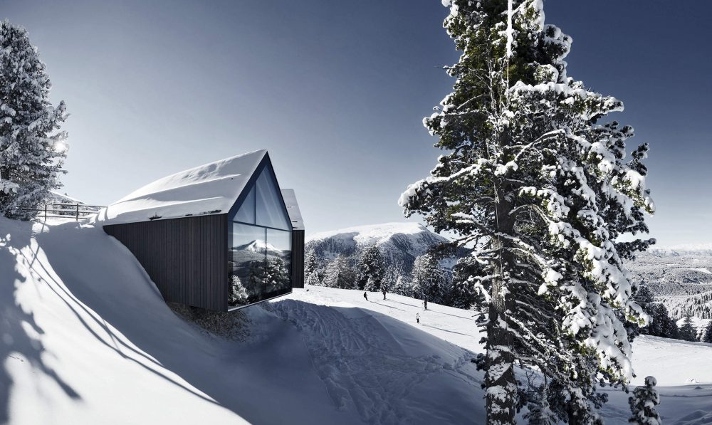 rifugio oberholz obereggen nello ski center latemar