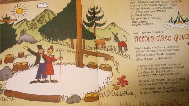 circo 5 libri Montagnanimata per le vacanze di Natale