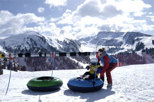 baby park sulla neve a pampeago