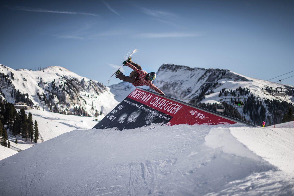 Snowpark a Obereggen