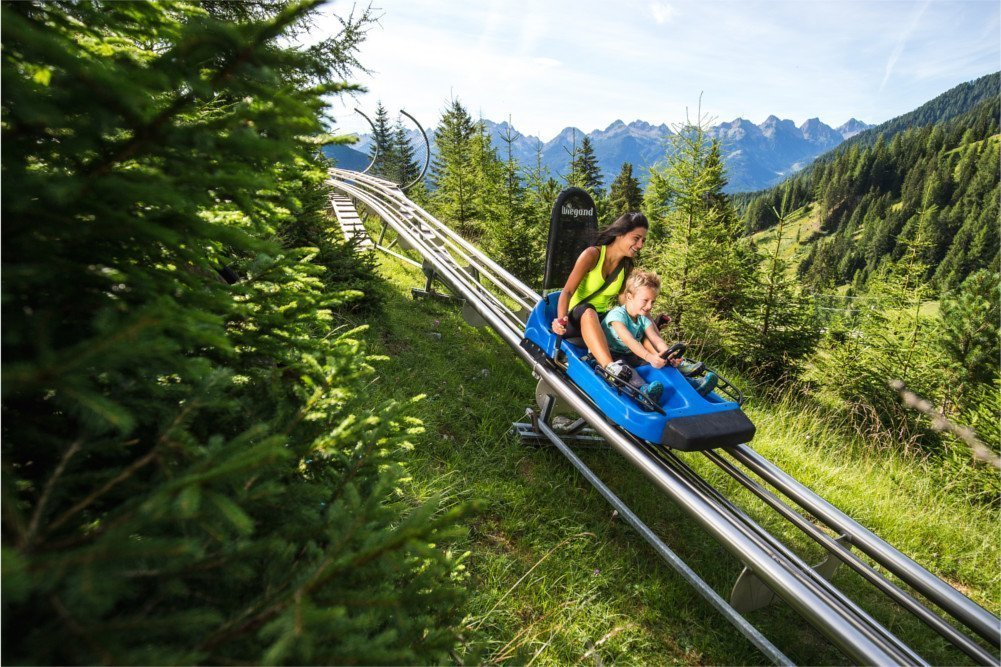 alpine coaster gardonè predazzo val di fiemme