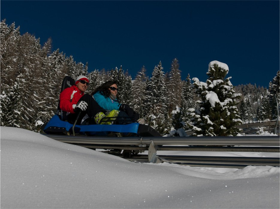 L'Alpine Coaster Gardonè predazzo