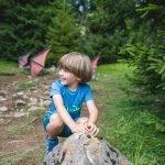 5 cose da fare con i bambini di 3-7 anni d'estate in montagna